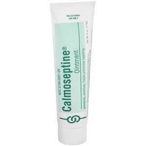 Calmoseptine Pommade Tube, 4 once