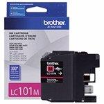 Brother LC101M OEM Ink - DCPJ152W MFCJ245 J285DW J450DW J470DW J475DW J650DW J870DW J875DW Magenta Ink (300 Yield)