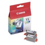 CNM8191A003 - BCI-15CLR Clr Ink Twin PK