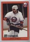 John Tonelli  Hockey Card  1993 94 Chemical Bank New York Islanders Alumni    Base   Joto