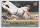 (Seattle Mariners Team (Baseball Card) 1995 Pacific Mariners Memories - [Base] #2)