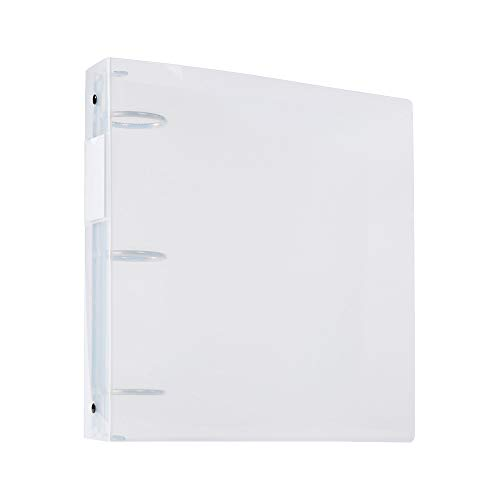 Filexec Products 2-Inch 3 Ring Binder, Clear, Pack of 2 - Binders Clear Ring 3