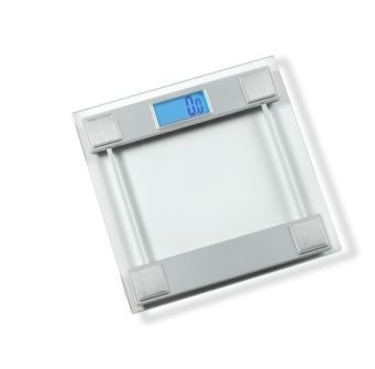 Kennedy Home Collections Digital Bath Scale Backlight Display - Silver