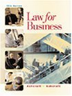 img - for Law for Business 14th edition by Ashcroft, John D. (2001) Paperback book / textbook / text book