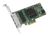 Intel I350T4BLK Ethernet Server Adapter I350-T4 - Network adapter - PCI Express 2.0 x4 low profile - Gigabit Ethernet x 4