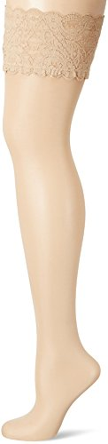 Wolford Satin Touch 20Stay de Up selbsthalte calcetín xxl-cosmetic color carne