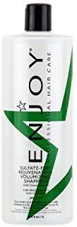 ENJOY Sulfate Free Rejuvenating Volumizing Shampoo (33.8 OZ) Strengthening, Smoothing