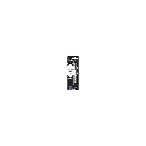 Mont Blanc Ballpoint Refill 1X1, Mystery Black, Medium (105150)