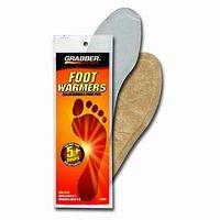 Grabber Heat Treat Foot Warmer Insoles 3 Pack Small/Medium OR Medium /Large