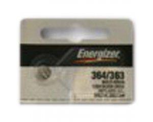 Energizer 364 363 Silver Oxide Watch Batteries 5pk SR621SW SR60