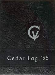 (Custom Reprint) Yearbook: 1955 Cedar Vale High School - Cedar Log Yearbook (Cedar Vale, KS)