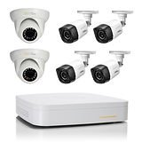Q-See 8-Channel 4 Bullet and 2 Dome 720p HD Night Vision Cameras w/ 1TB HDD DVR Security System