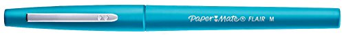 Paper Mate Flair Felt Tip Pen, Medium Point, Sky Blue, 1 Pen by Paper Mate (Image #1)