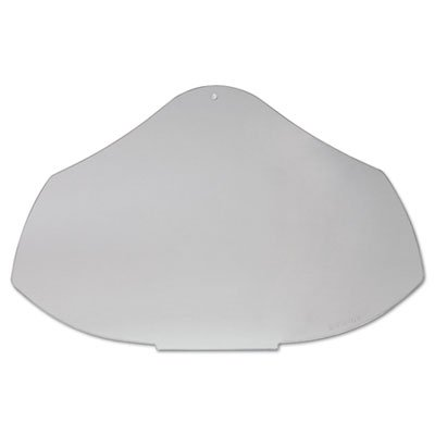 UVEX by Honeywell 763-S8550 Bionic Face Shield, Polycarbonate Visor, Uncoated, Clear