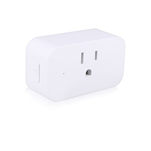 Smart Plug Mini Wifi Smart Socket Wifi Outlet Compatible With Alexa, Echo, Google Home and IFTTT, No Hub Required, 16A, Control Your Devices from Anywhere