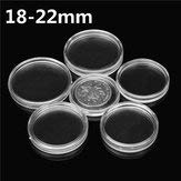 Coin Storage Case Plastic Container Military Challenge Cabinet - 1PCs