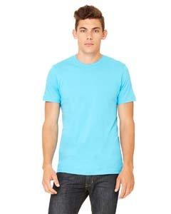 Bella + Canvas Unisex Jersey Short Sleeve Tee (Turquoise) (4X) (Banana Jersey)