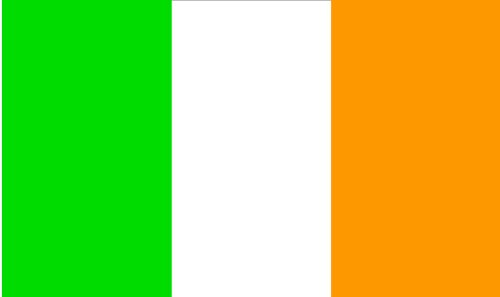 Shoe String King SSK Ireland Outdoor Flag - Large 3' x 5', Weather-Resistant Polyester