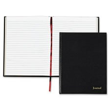 Professional Journal, Casebnd, 80 Sheets, 5''''x8'''', Black, Sold as 1 Each
