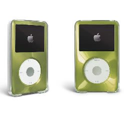 Green For Apple iPod Classic Hard Case with Aluminum Plating 80gb 120gb ()