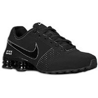 reputable site e0bc7 6346d Nike Shox Deliver Suede All Black Limited Men s Running Shoes (11.5)