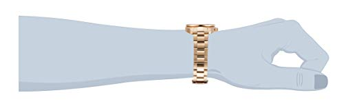 Invicta Men's Pro Diver Quartz Watch with Stainless Steel Strap, Rose Gold, 22 (Model: 31493)