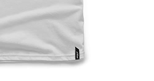 da Ageless uomo bianco Classic Maglietta nero Alpinestars White Tee 5qvEwtIvHx