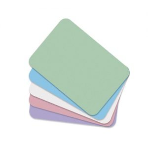 DEFEND- Tray Paper Covers 8.5 x 12.25 in - Mauve ( Pink ) Bx 1000 # M 122928 Us Dental Depot