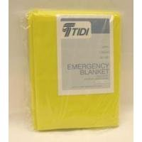 Emergency Blanket, 56'' x 90'', Bright Yellow, 24/cs