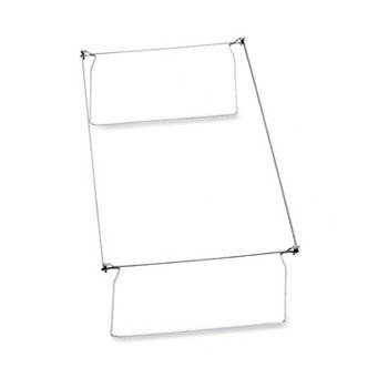 Smead® Steel Hanging Folder Drawer Frame FRAME,LGL H/FLDR 2PK,GY MFC7440N (Pack of8)