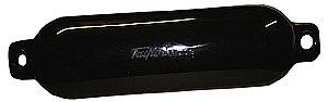 Taylor Made Products 71028 Hull Gard Inflatable Vinyl Boat Fender, 8.5 x 27 inch, Black