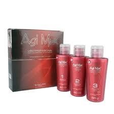 Аги Макс Бразильский кератин выпрямления волос Kit 60 мл (Сильная Формула - Красные бутылок)