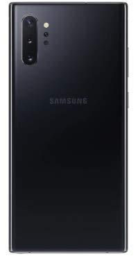 Samsung Galaxy Note 10+ Plus (5G) Single-SIM SM-N976B 512GB (GSM Only, No CDMA) Factory Unlocked 5G Smartphone - International Version (Aura Black)