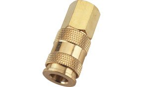 Milton Industries MIL-766 Female V-Style Hi-Flow Coupler 0.38 in. NPT