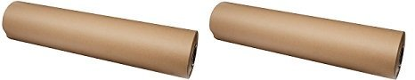 "Brown Kraft Paper Roll 36"" x 200 ft Roll - Proudly Made in USA - 100% Recycled Material - Multi-Use for Crafts, Art, Gift Wrapping, Packing, Postal, Shipping, Dunnage & Parcel. (2) by Woodpeckers (Image #5)"