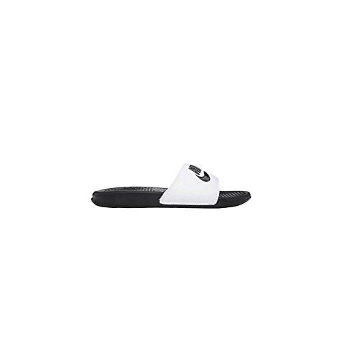 Benassi Uomo JDI Nero bianco Ciabatte Nike AwdqPUA