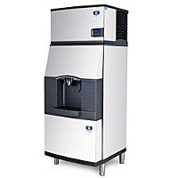 Manitowoc ID-0302A-SFA-291 310 Lb Air-Cooled Full Cube Ice Machine w/ SFA-291 Hotel (310 Lb Ice Machine)