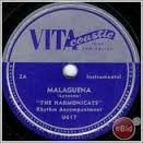 The Harmonicats ''Malaguena'' and ''Harmonica Boogie'' 78 Record Signature VG++ xx