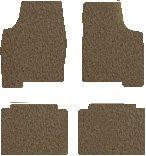 Mitsubishi Lancer Carpeted Floor Mats 4 Pc Set - Evolution - Dark Taupe (2004 04 2005 05 ) AMSQ6WB974SJLPE