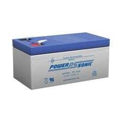 "PS-1230 - 12 V 3AH Sealed Lead Acid Battery with .187"" termi"