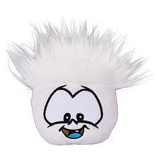 Disney Club Penguin White Pet Puffle Series 5 Includes Coin (Pet Series Puffle)