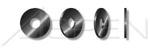 (120000PC) #3, Flat Washers, Machine Screw Washers, Steel, Black Zinc Ships FREE in USA by Aspen Fasteners