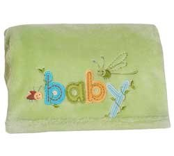 Embroidered Boa Blanket - 8