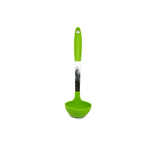 Quicklids® Silicone and Stainless Steel Ladle