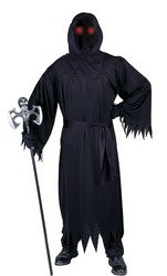 (Fun World Men's Adult Fade in and Out Phantom Costume, black)