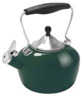 Chantal Enamel-on-Steel 1.8-Quart Catherine Teakettle, Bruns