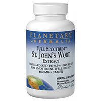Full Spectrum St. Johns Wort Liquid Extract, 2 Fl Oz by Planetary Herbals (Pack of 4) by Planetary Herbals