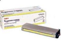 Okidata Type C4 Toner Cartridge Yellow 10000 Pages C7100/C7300/C7500 Series
