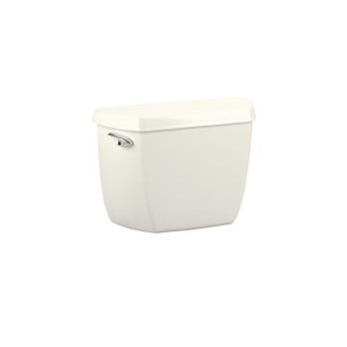 chic KOHLER K-4632-96 Wellworth Toilet Tank with Class Five Flushing Technology, Biscuit