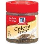 McCormick Celery Seed .95OZ (Pack of 18)